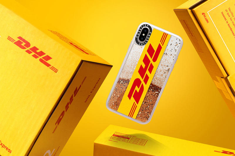 Casetify x DHL iPhone Cases Collaboration apple watch price CASETiFY yellow branding limited edition purchase online