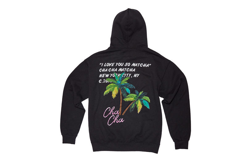 Cha Cha Matcha x Virgil Abloh Collaboration Info Collections Hoodies T-Shirts West Hollywood Store Cafe Location Opening Launch