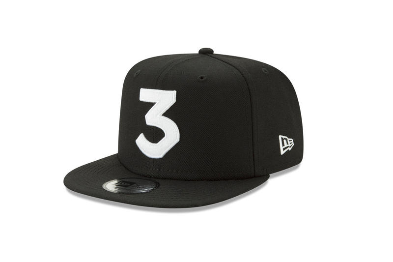 ed3f821933afc Chance The Rapper LIDS Exclusive 3 Hats New Era Snapback Cap Black Blue  pink Khaki Sky
