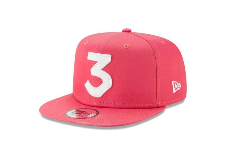 Chance The Rapper LIDS Exclusive 3 Hats New Era Snapback Cap Black Blue pink Khaki Sky White High Crown 9FIFTY Chance 3 High Crown 9FIFTY