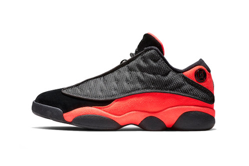 "CLOT x Air Jordan 13 Low ""Infra-Bred"" Completes the Collaborative Duo this Month"