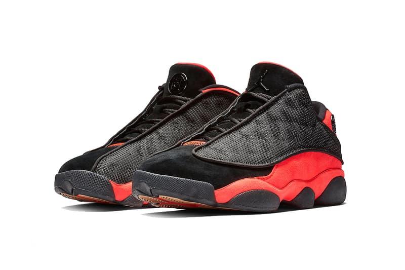 clot air jordan 13 low infra bred 2018 december footwear jordan brand black infrared 23