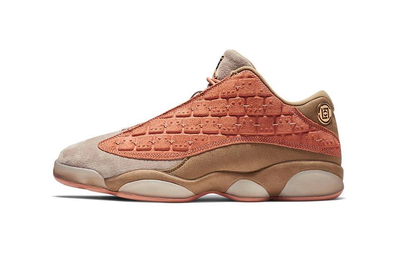 CLOT Air Jordan 13 Low Terracotta Official Look sneaker Kevin Poon Edison Chen