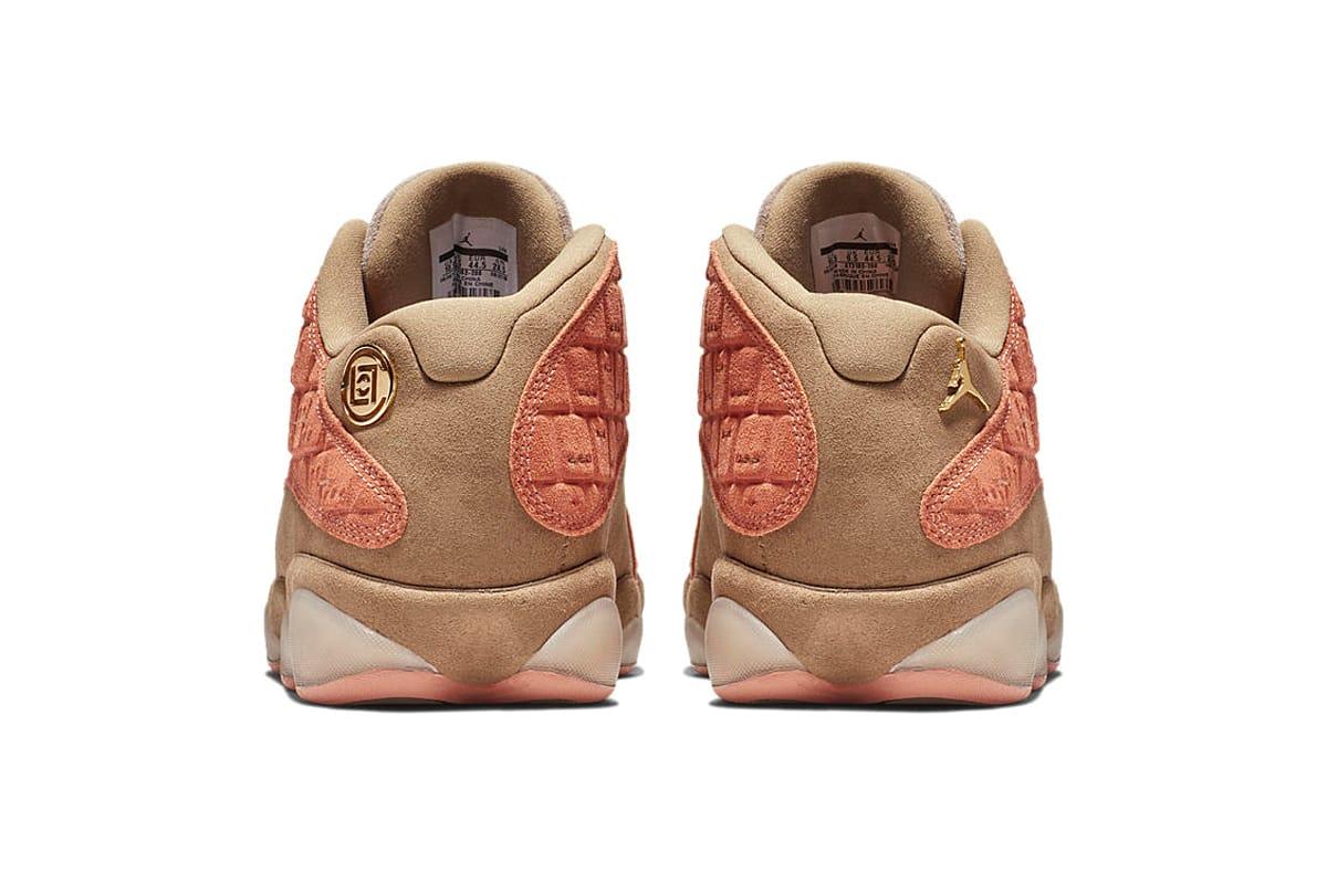 clot x air jordan 13 low price