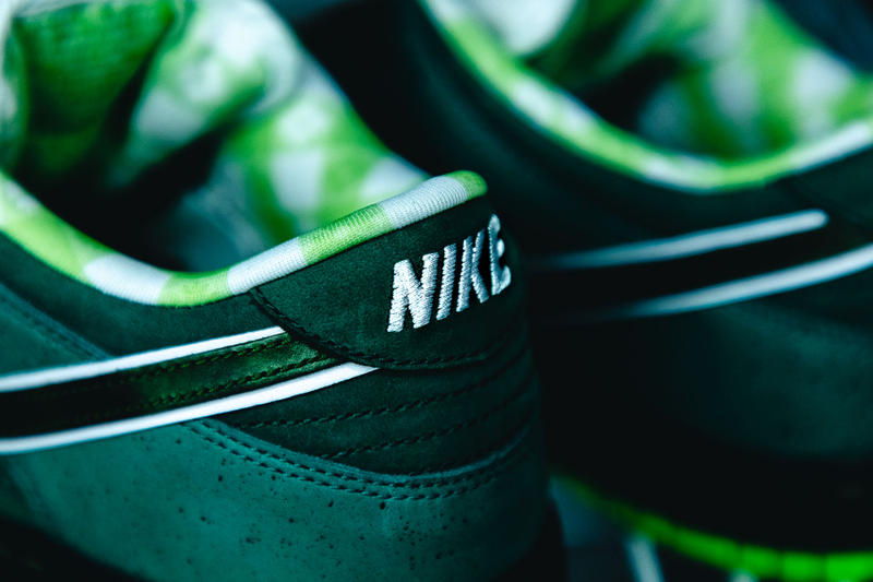 "Concepts x Nike SB Dunk Low ""Green Lobster"" Closer Look travis scott green purple lobster"
