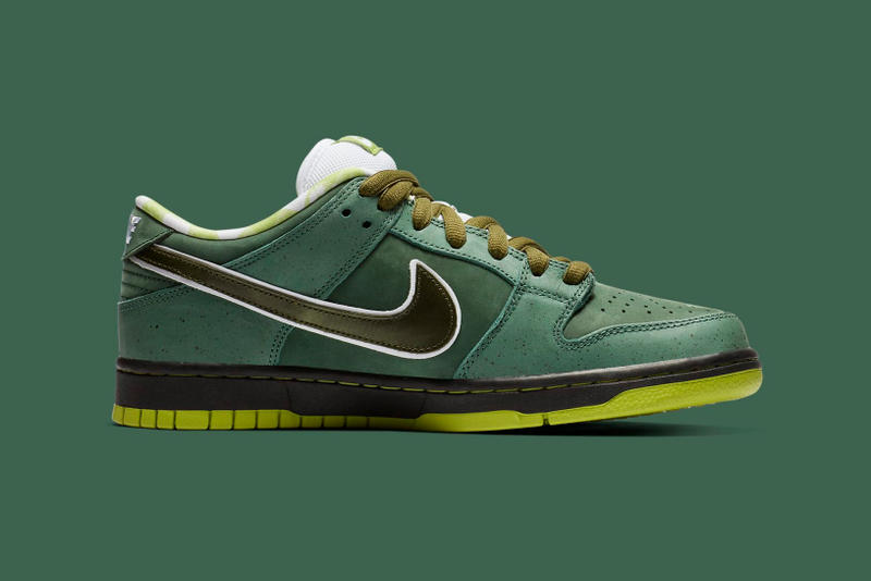 """Green Lobster"" Concepts x Nike SB Dunk Low Official Images swoosh nike travis scott"