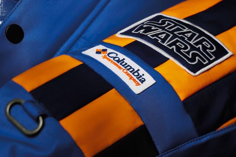 """Columbia Sportswear """"Star Wars"""" """"The Empire Strikes Back"""" parka omni heat release date release info"""