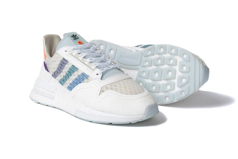 Commonwealth adidas Consortium ZX 500 RM Closer Look Coastal Living Sneaker Silhouette Footwear Shoe buy cop purchase pick up how to