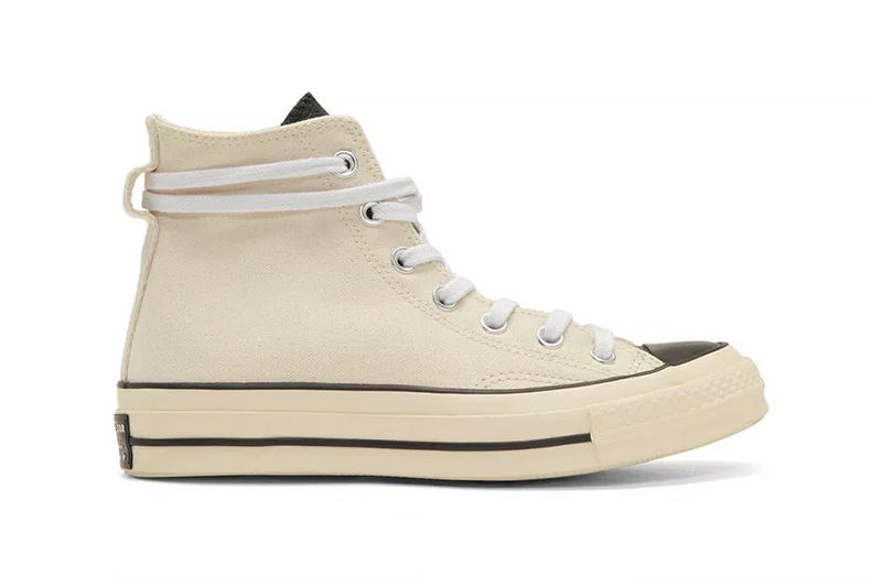 Fear Of God ESSENTIALS x Converse Chuck 70 Release Details Sneakers Trainers Kicks Shoes Footwear Cop Purchase Buy Collab Collaboration Collaborative Brands Fashion
