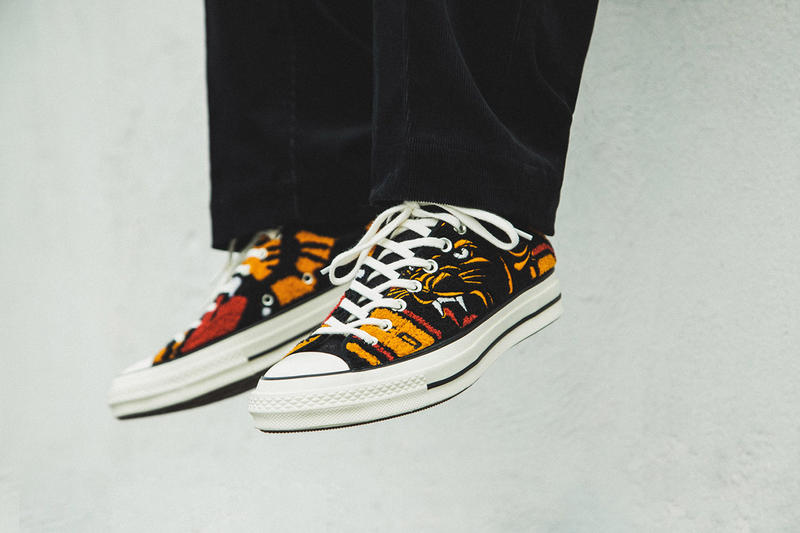 90242df0d766 Undefeated x Converse Chuck 70 OX On-Foot Look First Closer Look HBX Collab  Collaboration