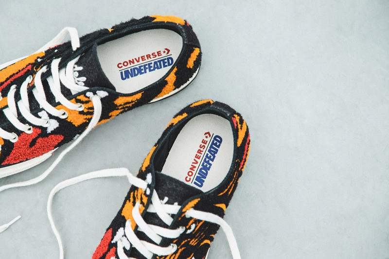 Undefeated x Converse Chuck 70 OX On-Foot Look First Closer Look HBX Collab Collaboration