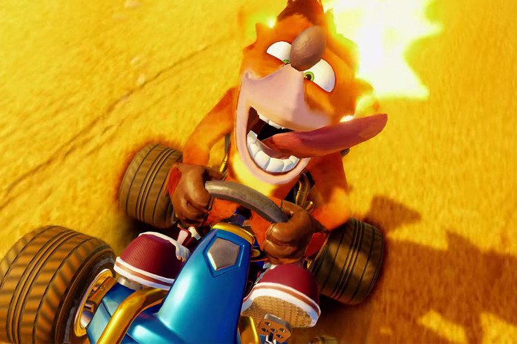 Crash Team Racing Nitro-Fueled' Gameplay | HYPEBEAST