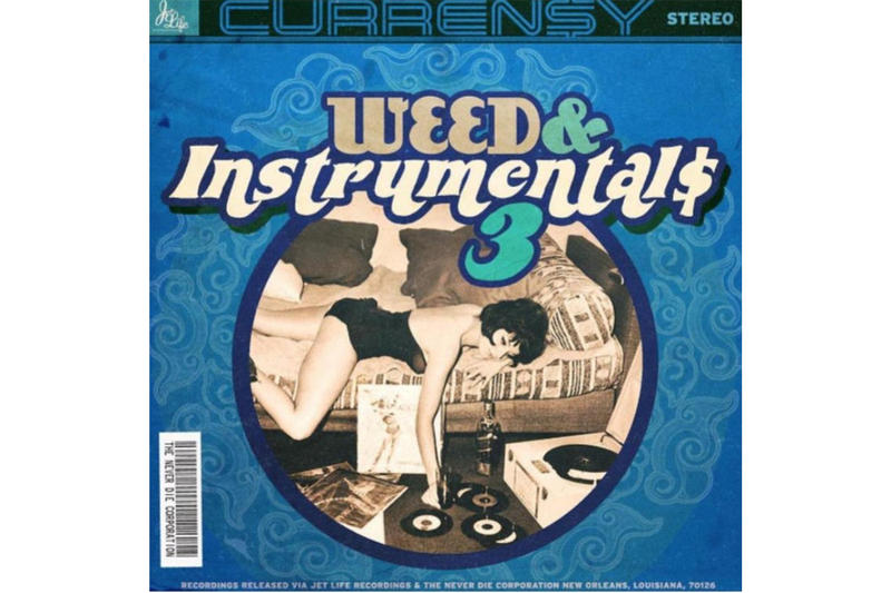 Curren$y Weed & Instrumentals 3 Mixtape Stream New Music Track Stream Fiend T.Y. Fendi P Come Clean Mo Bama FlatBed Freestyle You Know My Steez Mobb Deep The Realest Wiz Khalifa