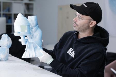 Daniel Arsham Reimagines Ancient Chinese Lantern for New Sculpture
