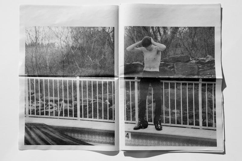 Daniel W. Fletcher 'The Sound of Silence' Zine Fashion Clothing Lookbook Newspaper Fall/Winter 2019 2018 SSENSE