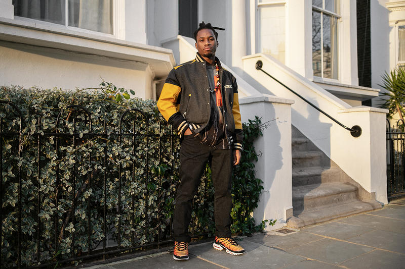 Denzel Curry Streetsnaps London Music Artist Junya Watanabe x The North Face COMME des GARÇONS Jacket Nike TN's