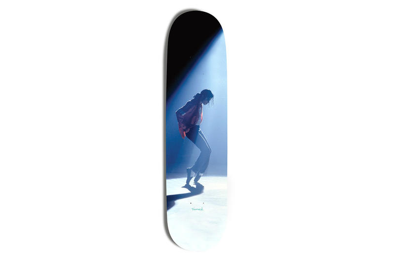 Diamond Supply Co.  Michael Jackson Skateboard king of pop collaboration streetwear