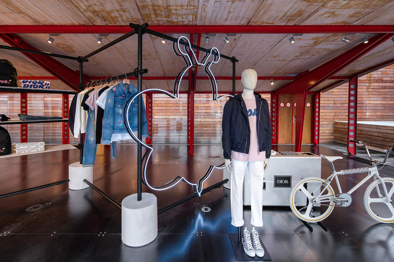 Dior Spring Summer 2019 Maxfield LA Pop Up Capsule Kim Jones Kaws