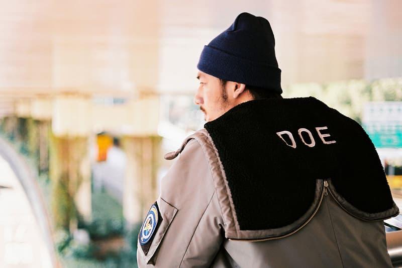 doe shanghai winter fall 2018 lookbook collection sportswear china release date info
