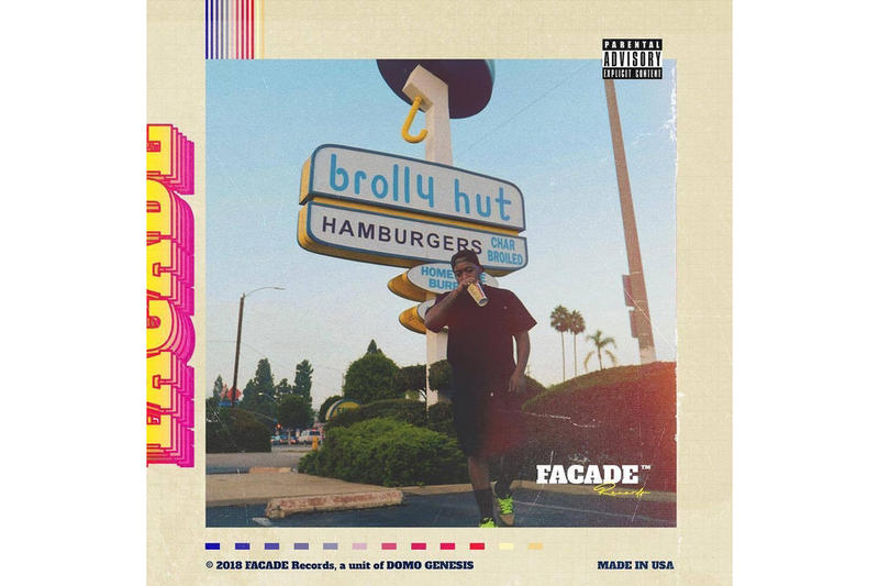 Domo Genesis 6-Track Facade Records EP Aren't U Glad You're U Buddy Chip Tha Ripper Cozz IDK
