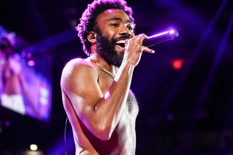 Donald Glover Plays Unreleased Song to Honor Late Father this is america tour stop videos childish gambino