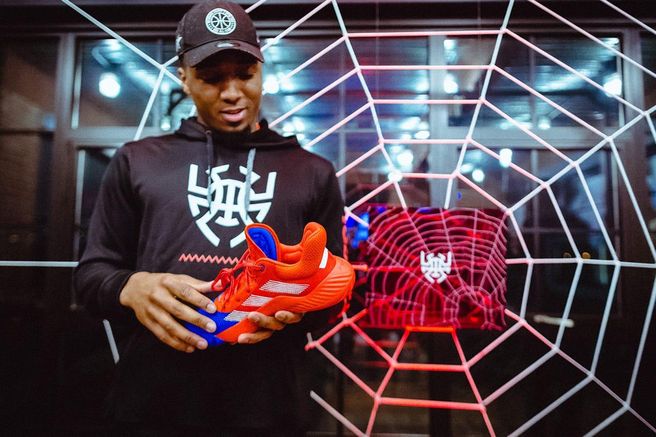 Donovan Mitchell Unveils adidas D.O.N.
