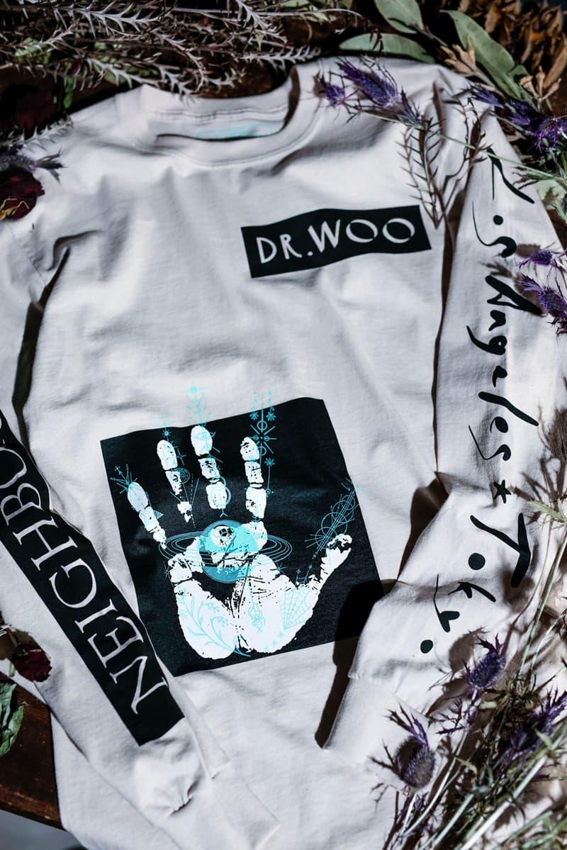 dr woo neighborhood collaboration incense chamber t shirt