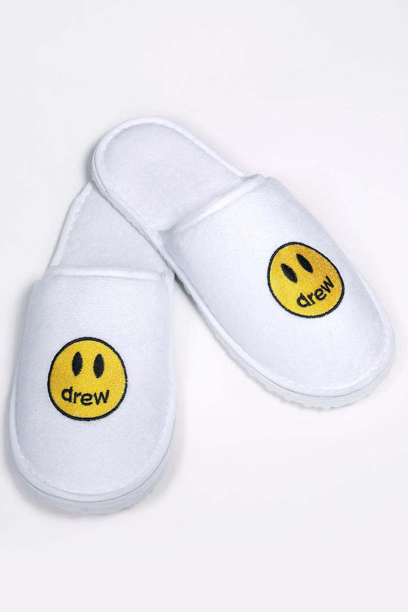 Justin Bieber's Drewhouse Cheap Hotel Slippers cheap ass $5 scooter braun