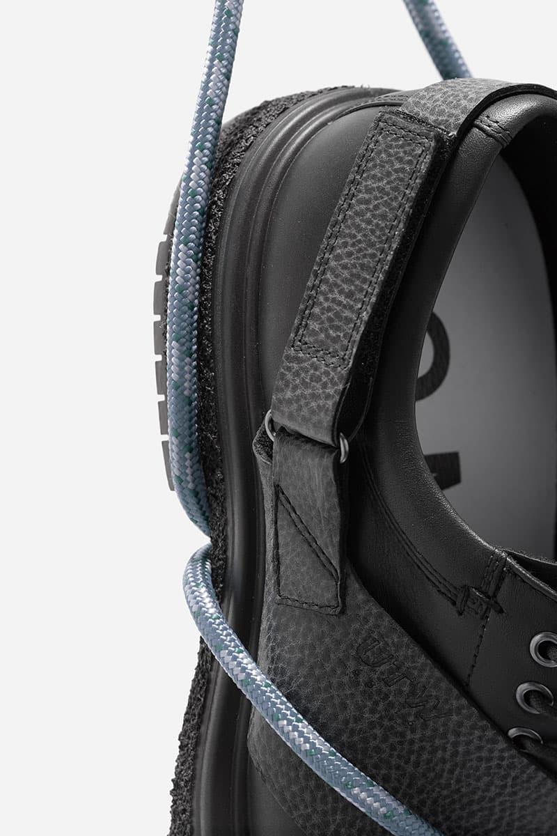 Ecco x Studio Hagel Release Date info ecco leather mathieu hagelar dyneema fluidflorm