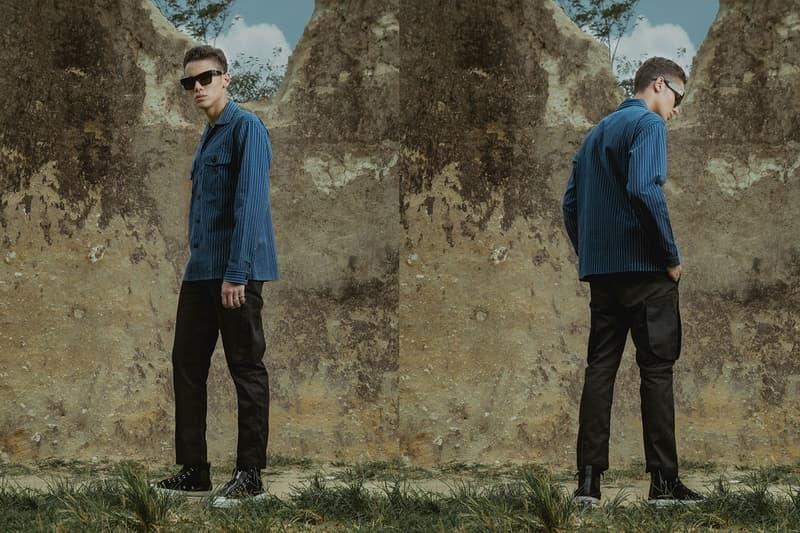 Elhaus Neo Indigo FW18 Lookbook Jakarta Indonesia dye clothing jackets vest