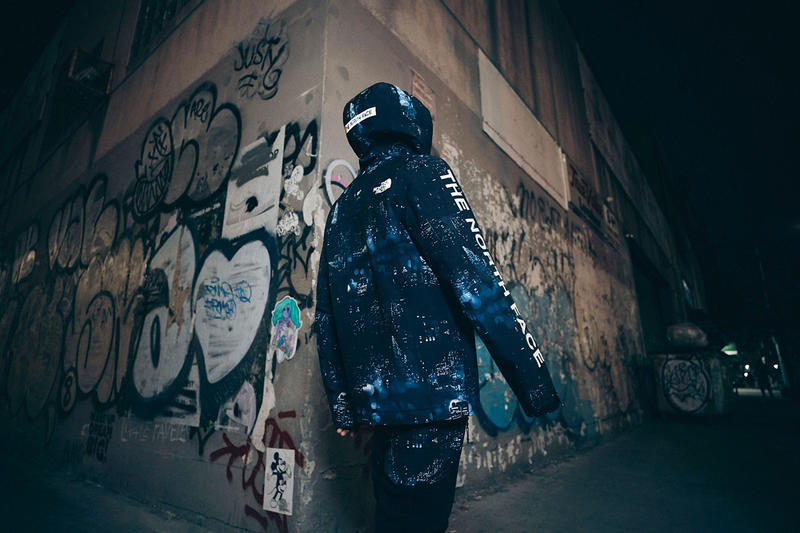 extra butter the north face night crawlers collection 2018 december nuptse jacket stetler jacket denali fleece anorak denali fleece pant roos sling pack knit cuff beanie shedrain