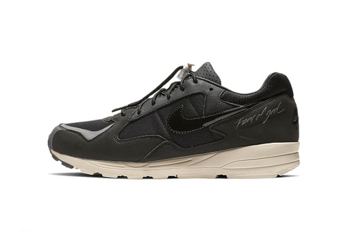 "A Clean Look at the Fear of God x Nike Air Skylon II ""Black"""