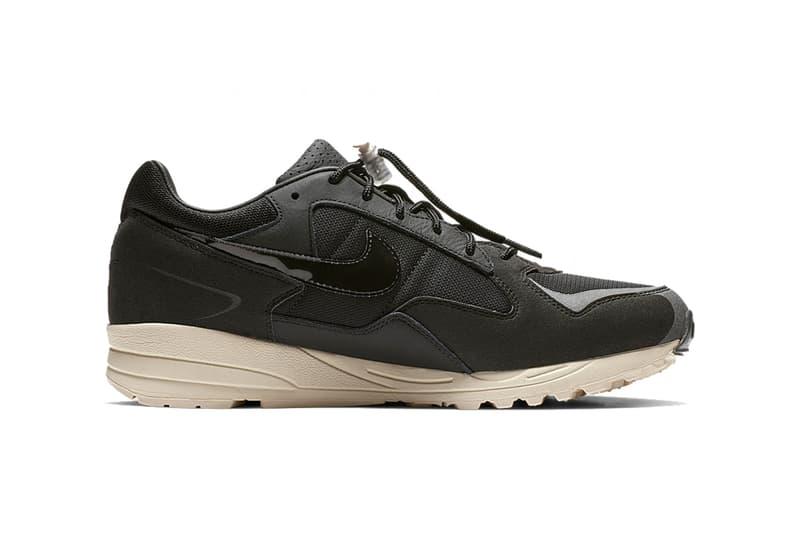 fear of god nike air skylon 2 black clean look 2019 jerry lorenzo footwear nike sportswear white background product shots photos