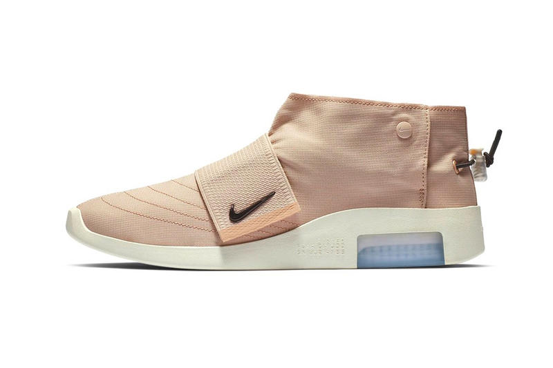 designer fashion 4c2ac 600e3 Fear of God Nike Moccasin First Look Particle Beige Sail Black Jerry  Lorenzo Info Release Date
