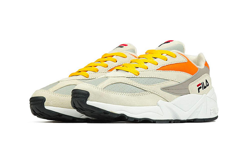 "FILA V94M ""Italy"" pack release date info sneaker colorway blue yellow red mens womens size purchase online available now"
