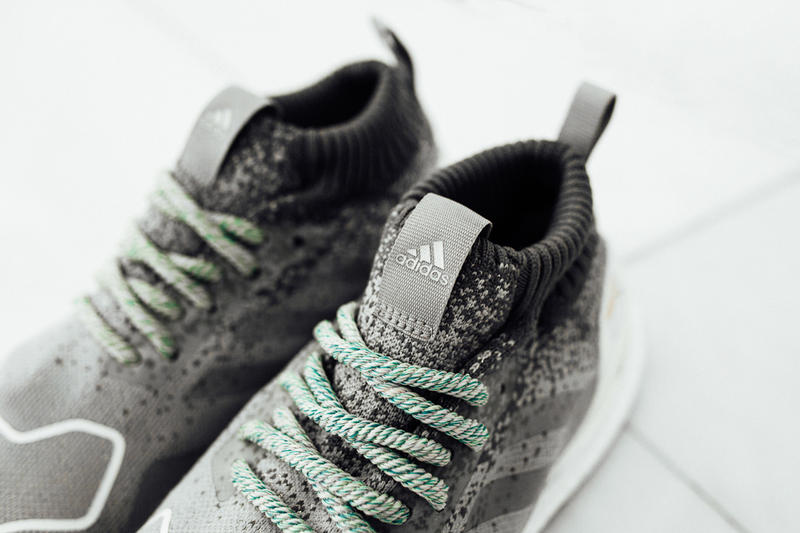 "Finish Line x adidas UltraBOOST ""LA"" Edition in pursuit of black green white grey boost continental silver"