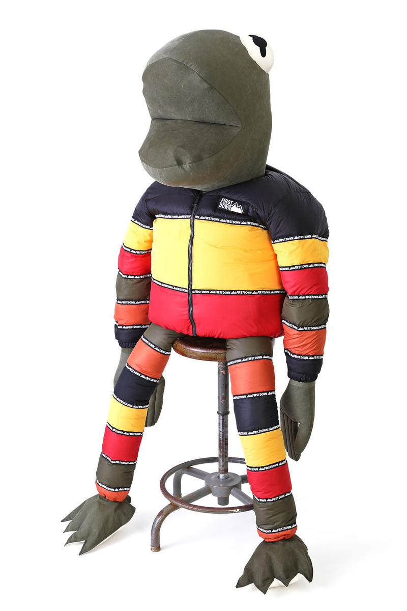 first down readymade frogman collectible figure 5 feet tall jacket vintage remake one off custom exclusive open studio annex FREAK'S STORE poggy the man