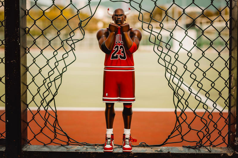 be8cfe1716f524 Fools Paradise XL THREE KINg TWO THREE Michael Jordan Figure Vinyl Toy Hong  Kong bull bulls