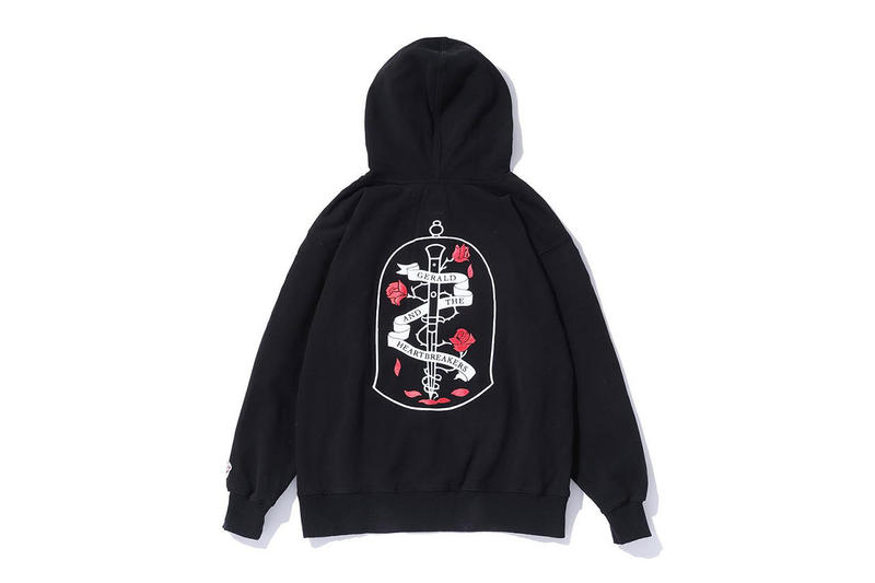 G-Eazy x BEDWIN & THE HEARTBREAKERS Merchandise Collaboration hoodies beautiful and damned dead boyz japan exclusive release date info gerald