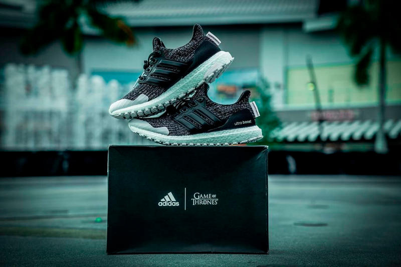 "'Game of Thrones' x adidas UltraBOOST ""Night's Watch"" first look release got hbo jon snow"