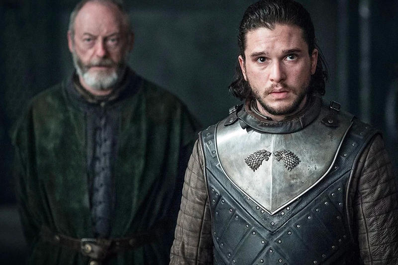 HBO Shares Celebrity-Filled Game of Thrones Promos tv shows jon snow dragons Sophie Turner, Kit Harington and Maisie Williams