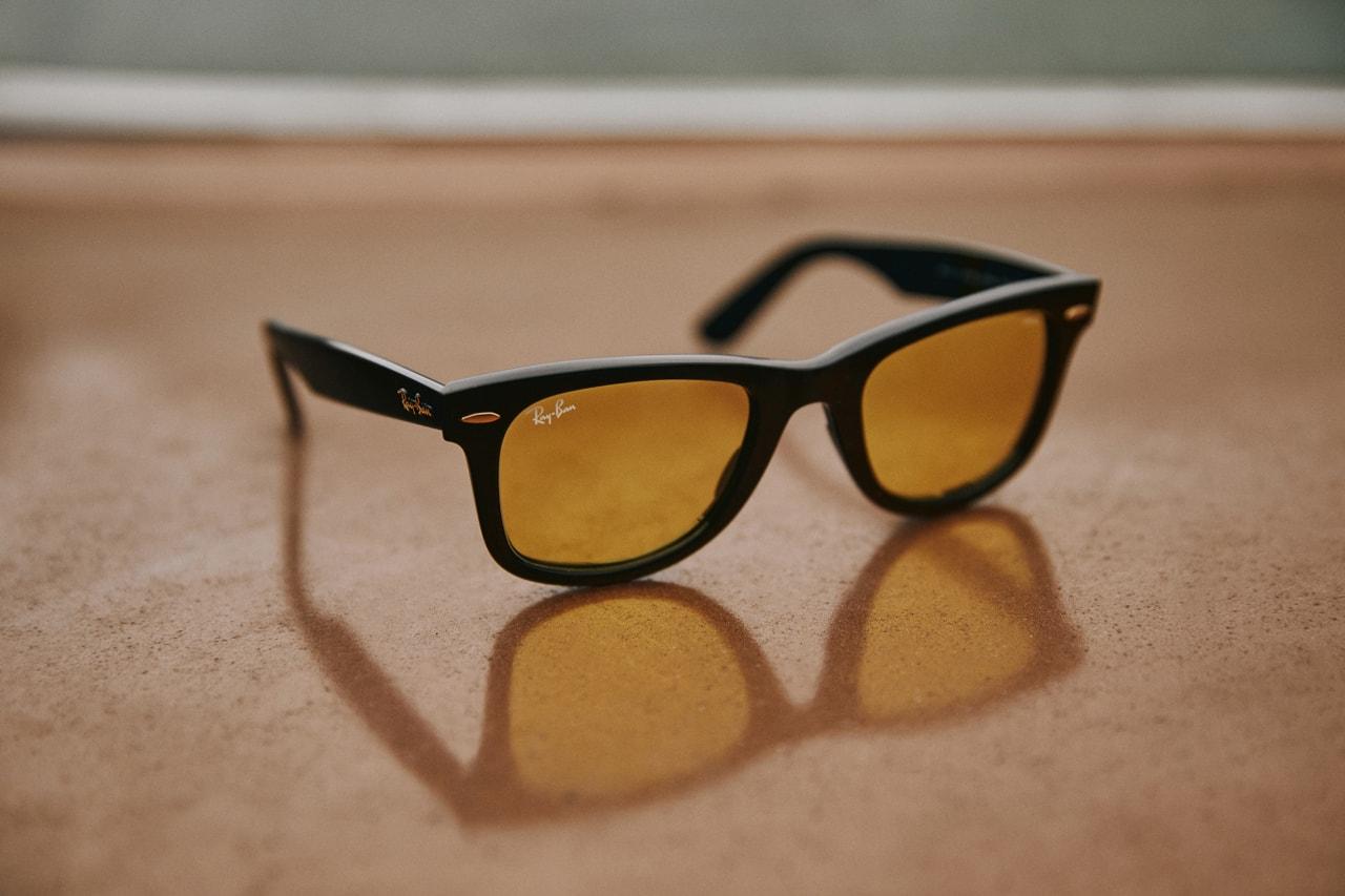 Gianni Lee x Ray-Ban Sunglasses 2018 Editorial Meteor Evolve Wayfarer Evolve Wayfarer Pop sunglasses eyewear frames sunnies