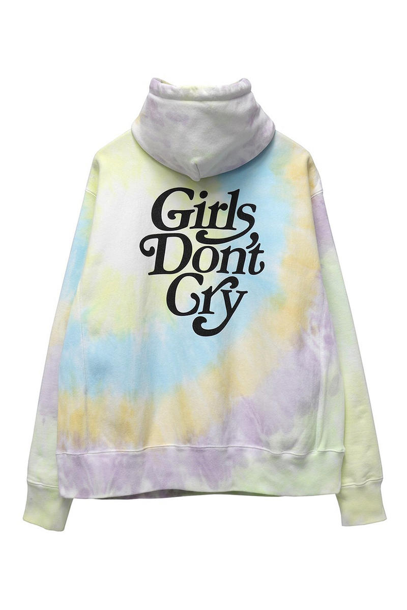 girls dont cry readymade capsule collaboration collection hoodies tee shirt print necklace bolt chainlink lock december 22 2018 gr8 tokyo drop release date info