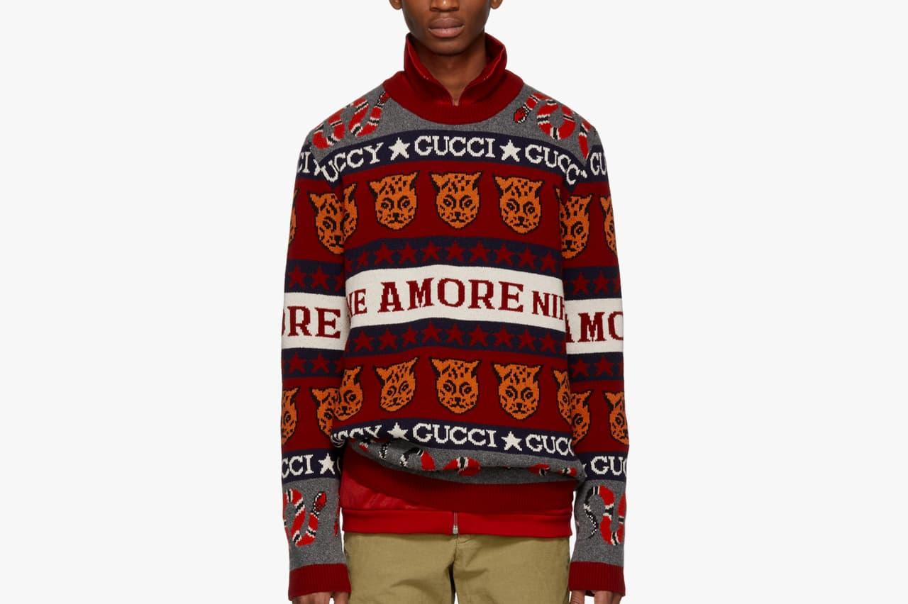 Gucci Knit Sweaters Fallwinter 2018 Release Hypebeast
