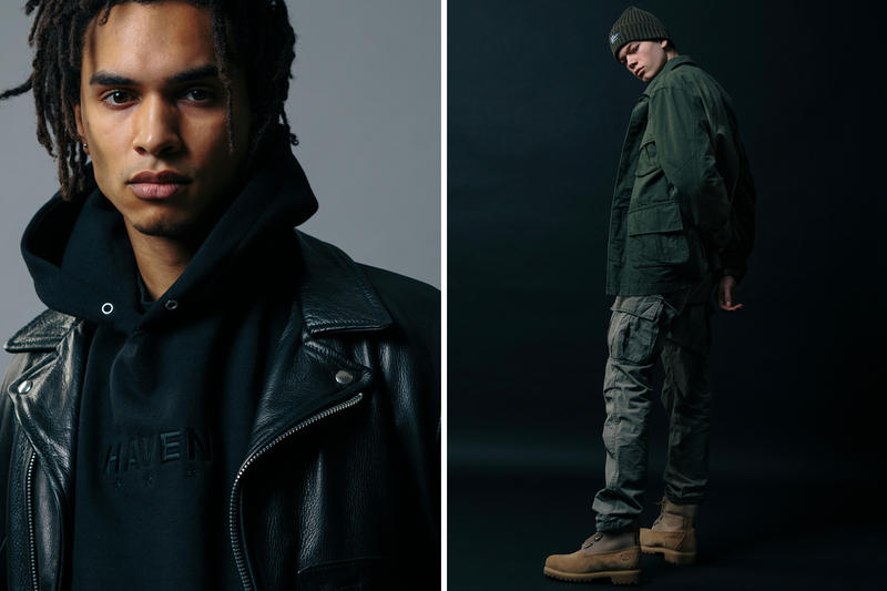 HAVEN Fall/Winter 2018 Delivery 2 Editorial in house line canada retailer