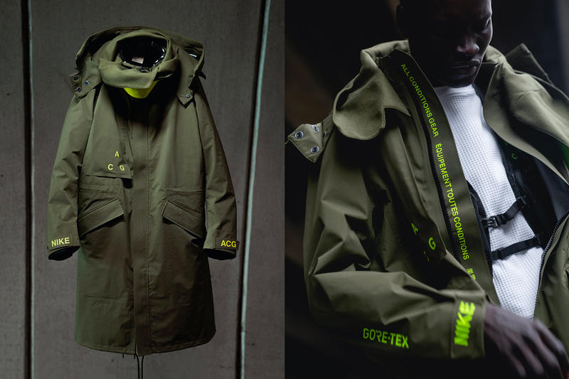Haven Nike ACG Collection Lookbook Errolson Hugh Techwear Outerwear Jackets Canada Gore-tex Rain Snow