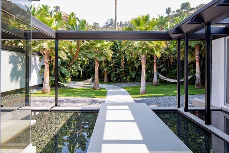 Hedi Slimane $17 Million Home house sale beverly hills los angeles california auction sale