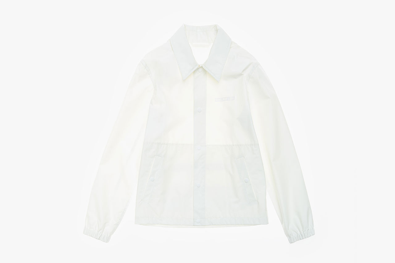 Parley for the oceans Helmut Lang Unisex Jacket Collaboration recycle upcycle jacket collection collaboration black white colorways december 19 2018 release date drop info