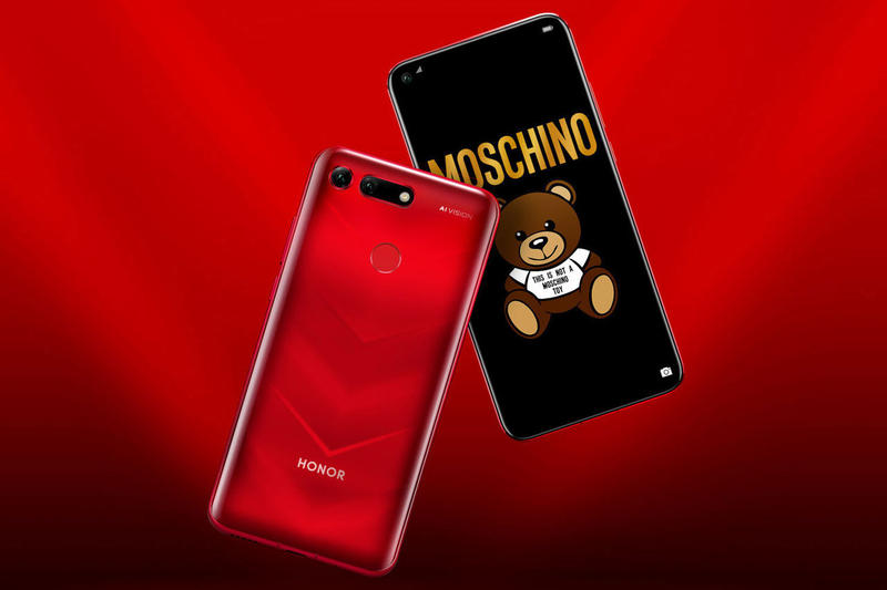 honor view 20 smartphone december 28 january 22 2018 2019 china paris moschino edition collaboration skin release buy cell