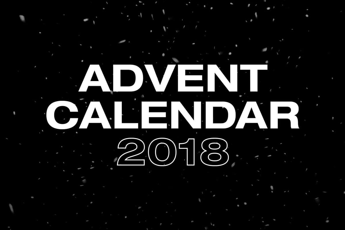 Advent Calendar 2018: Official Winners List